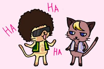 カリスマとアキラ
