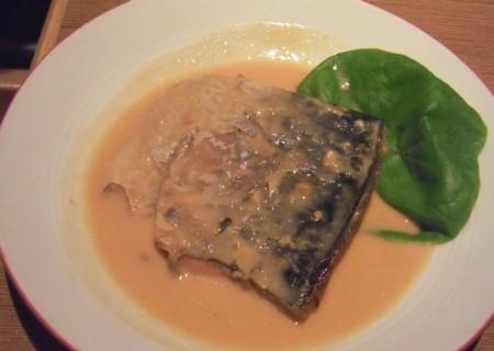 鯖の味噌煮 チーズ
