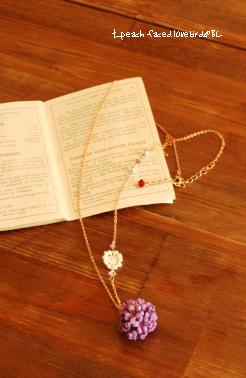 小花ネックレス