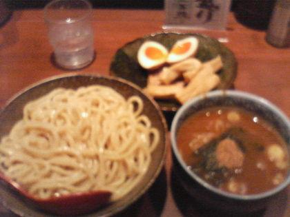 三田製麺所_つけ麺+三田盛り