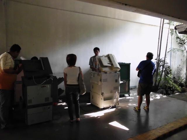 コピー機(大学内) (2)