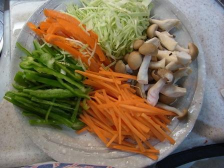野菜切った