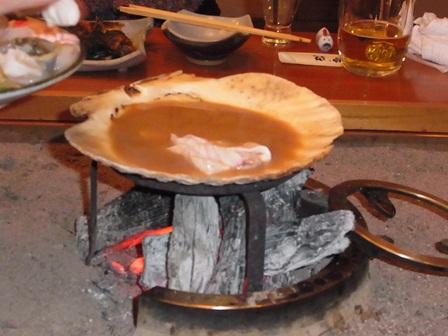 貝焼き味噌1