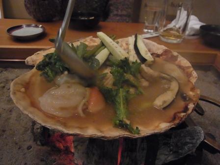 貝焼き味噌3