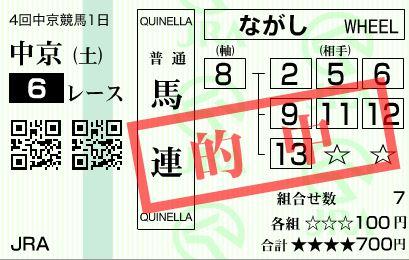 中京6R8番11人貴