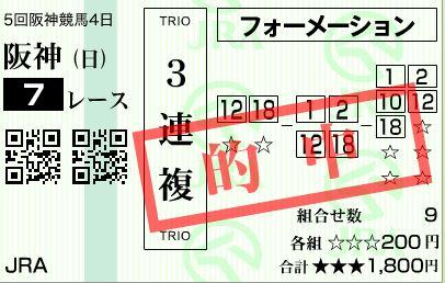 3連阪神7R