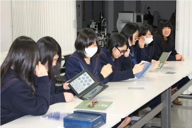 【視能訓練士科】立体視の体験