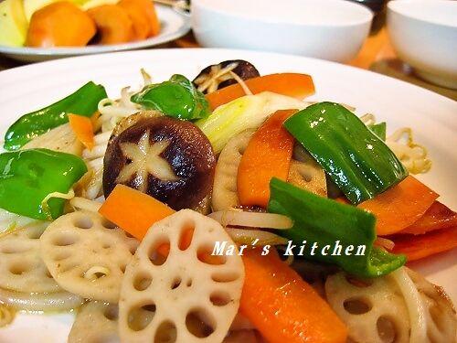 野菜蒸し炒め