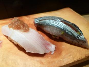 ブリと秋刀魚