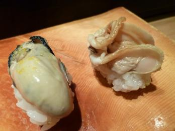 牡蠣とハマグリ