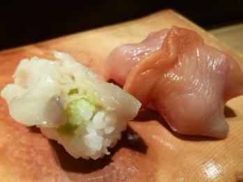 赤貝とホッキ貝