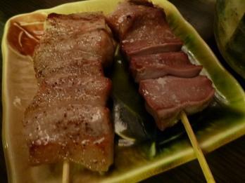豚トロと豚タン