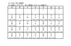 はんのき2014年1月店番表