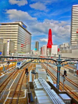 JR大阪駅から