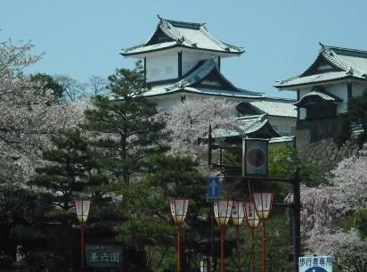 12・4・19金沢城の桜-02 -小