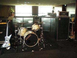 ドラム&ギター、ベース