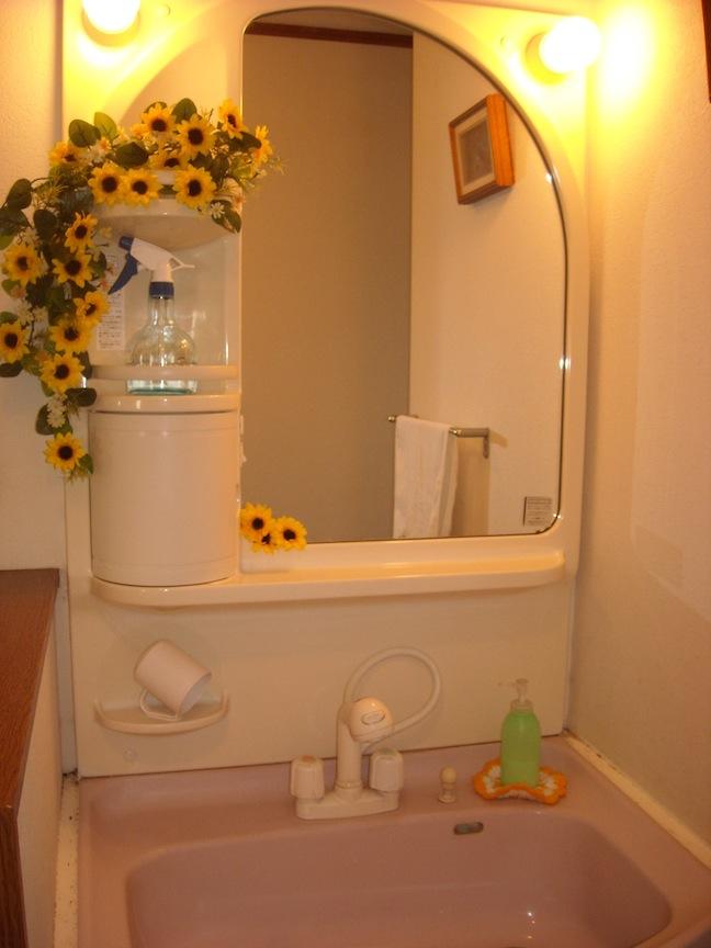 旧ひまわり洗面所
