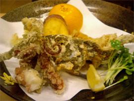 真鍋島三虎料理3