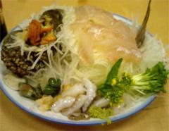 真鍋島三虎料理1