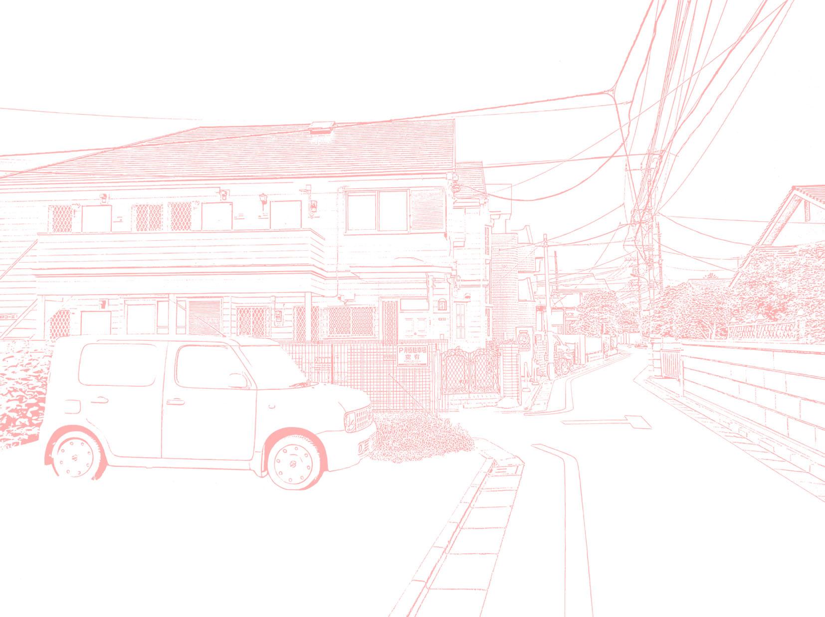 漫画背景地元01