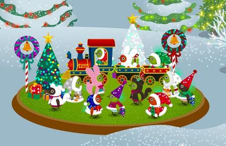 クリスマスピヨールズ