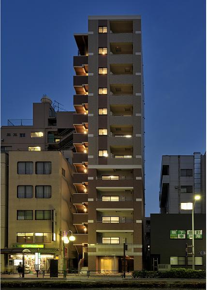 グローバン本所吾妻橋駅前外観写真