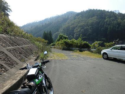 林道入り口-2