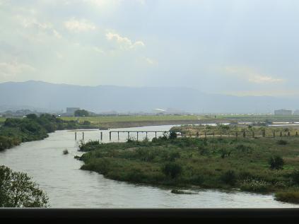流れ橋-1