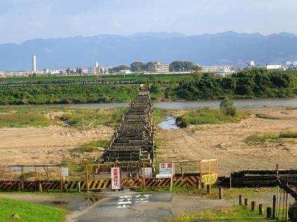 流れ橋-6