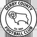 128 エンブレム  プレミアリーグ  ダービー・カウンティFC