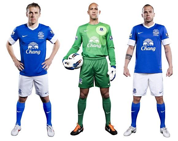 Evertonユニ