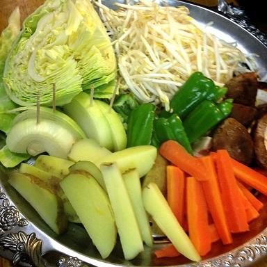 野菜も食べてね