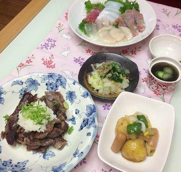 14日の晩御飯