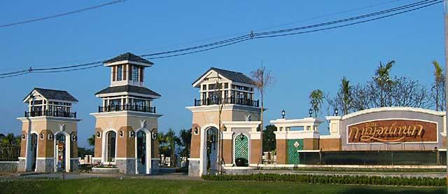 チェンマイの住宅団地(2)