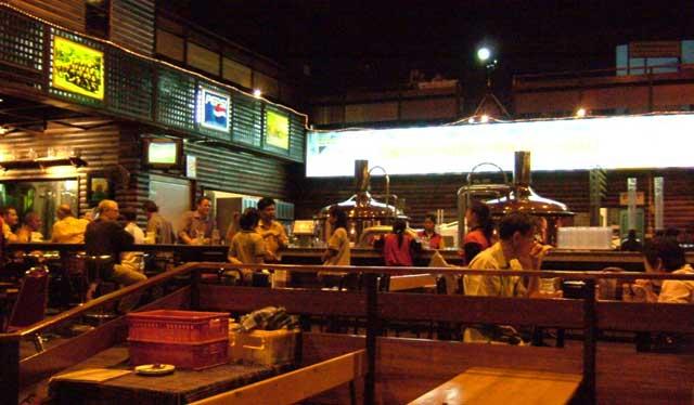チェンマイ・ドイツビール醸造レストラン
