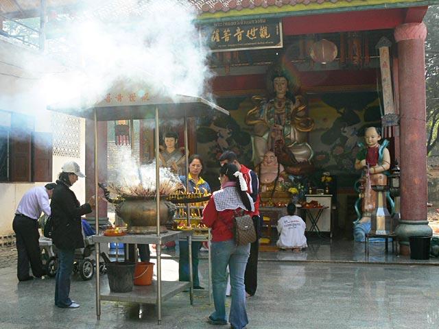 タイのお寺の観音様(2)