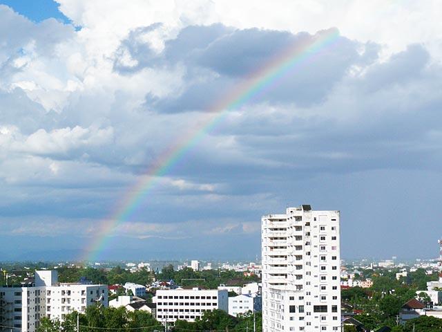 虹のチェンマイ