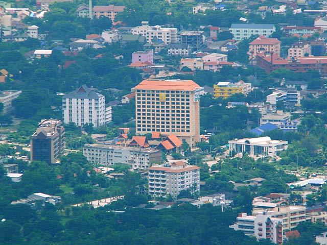 チェンマイの町を見下ろす(3)