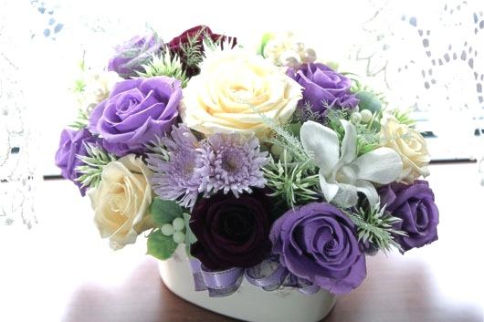 パープル系花瓶