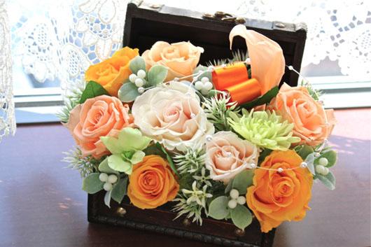 オレンジ宝箱