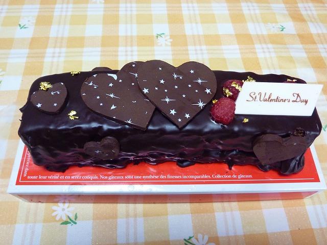 バレンタインケーキ 003