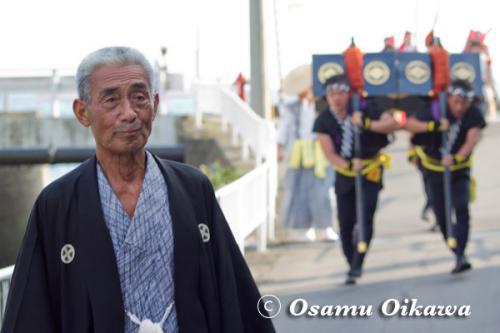 福島大神宮渡御祭 奴行列 頭取 2012