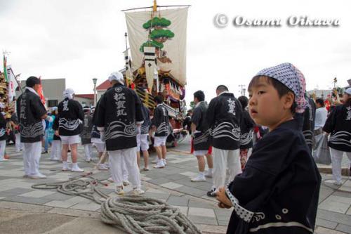 姥神大神宮渡御祭 2012 下町巡幸 松寳丸