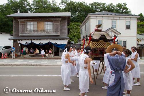 姥神大神宮渡御祭 2012 下町巡幸 神輿