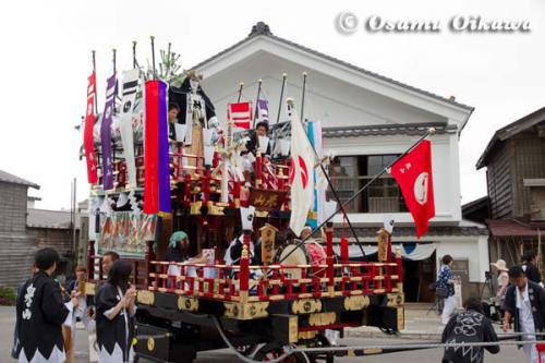 姥神大神宮渡御祭 2012 下町巡幸 誉山