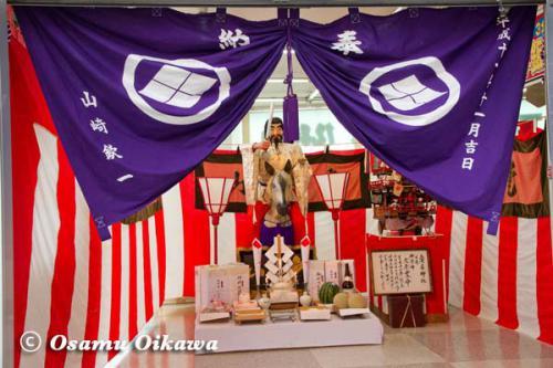 姥神大神宮渡御祭 2012 下町巡幸 人形