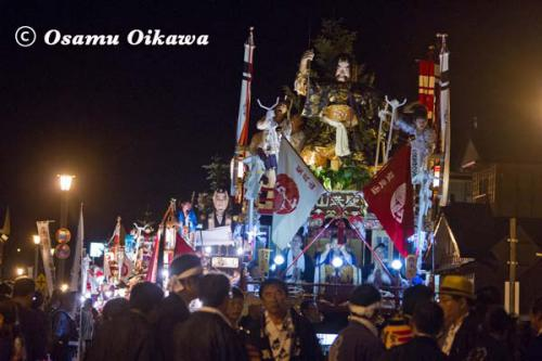 姥神大神宮渡御祭 2012 下町巡幸 夜の部