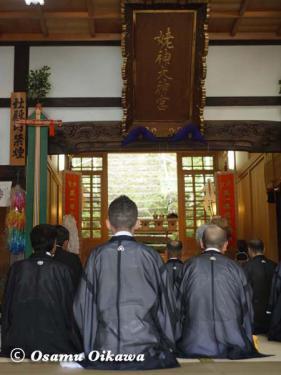 姥神大神宮渡御祭 2012 下町巡幸 出発式