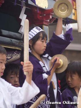 姥神大神宮渡御祭 2012 下町巡幸 子供たち