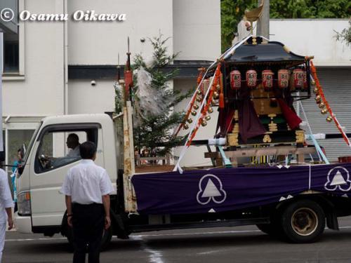 姥神大神宮渡御祭 2012 下町巡幸 ほうれん